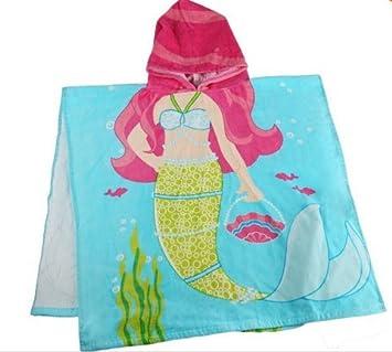 Kid s diseño de pirata algodón toalla de baño toalla toallas de playa de dibujos