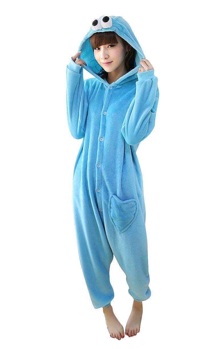Frozen olaf muñeco de nieve Onesie disfraz pijama, Unisex: Amazon ...