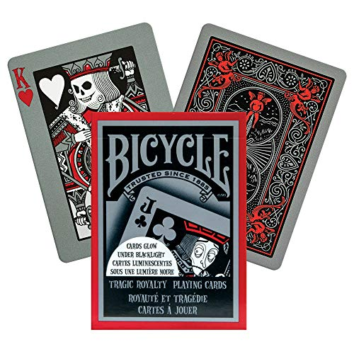 Bicycle Tragic Royalty Playing Cards (Deck Of Cards Under 3 Dollars)