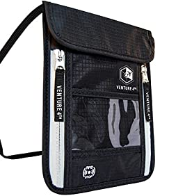 Venture 4th Travel Neck Pouch with RFID Blocking
