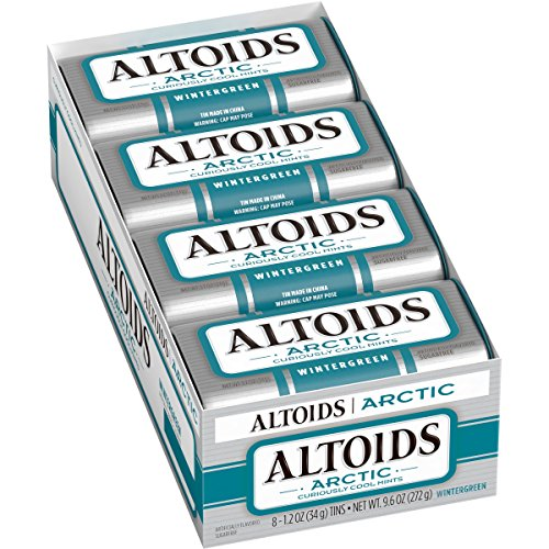 (Altoids Arctic Mints, Wintergreen, 1.2 Ounce (8 count))