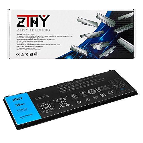 10 Series Laptop Battery (ZTHY FWRM8 Battery For Dell Latitude 10 (St2) (St2e) series Laptop 1vh6g 1xp35 312-1412 Cn-0ct4v5-48637 Ct4v5 Ky1tv Ppnph Ycfrn C1h8n 451-12079 7.4v 30wh)
