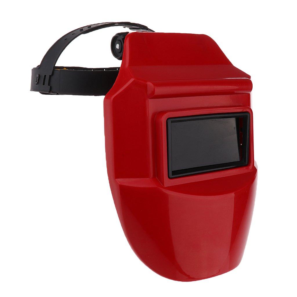 Red Auto Darkening 25x 20cm Jili Online Solar Auto Darkening Welding Helmet Arc MIG Certified Welding Mask 4 Colors