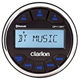 "Clarion Gr10bt Digital Media Receiver Usb/mp3/wma Bluetooth 3"" Gauge, Ipx5 Face, Am/fm/noaa, 50w"