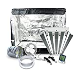 Mother Keeper Grow Tent Package With T5HO Fluorescent Grow Light