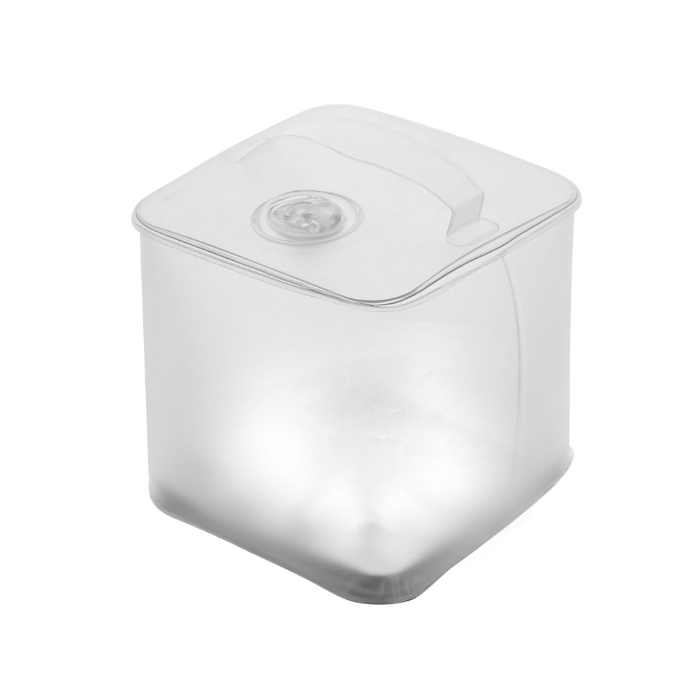 Solar Powered Inflatable Lantern IP67 Waterproof Levels Super Light Easy Carrying brilex LED Lantern Camping Lantern with 4 Lighting Modes