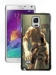 Custom Best Design Street Fighter Match Up HD-640x1136 wallpapers Black Samsung Note 4 Case