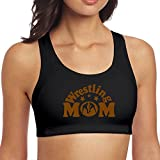 Qiop Nee Yoga Vest Bras Women's Wrestling Mom 1 Support High Sport with Fitness