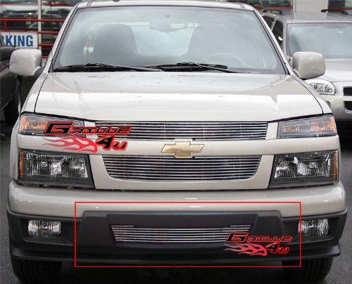 APS C65748A Polished Aluminum Billet Grille Bolt Over for select Chevrolet Colorado Models