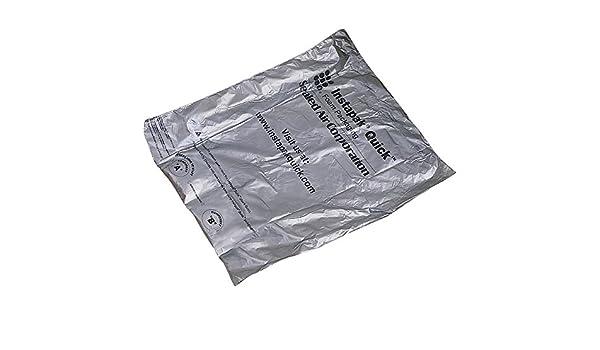 Gray 18 Width Instapak Quick IQH20 Expandable Foam Bags 18 Length