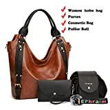 Purses and Handbags Fashion Coach Bags Large Shoulder Laptop Bags for Women 4pcs -  Ephraim