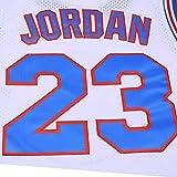 OTHERCRAZY Mens Basketball Jersey 23# Space Movie