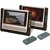 Venturer PVS6271 Port. dvd player dual widescreen LCD display