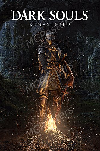 Mcposters   Dark Souls Remastered Ps4 Xbox One Glossy Finish   Nvg127  24  X 36   61Cm X 91 5Cm