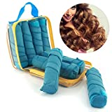 8pcs Curler Hair Beauty Rollers Curling Accessories Women Sleeping Styler Hair 8 Blue