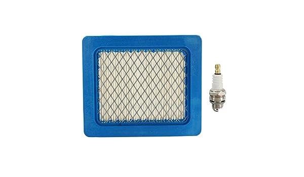 WCHAOEN Kit de servicio de filtro de aire y tapón para Honda IZY ...
