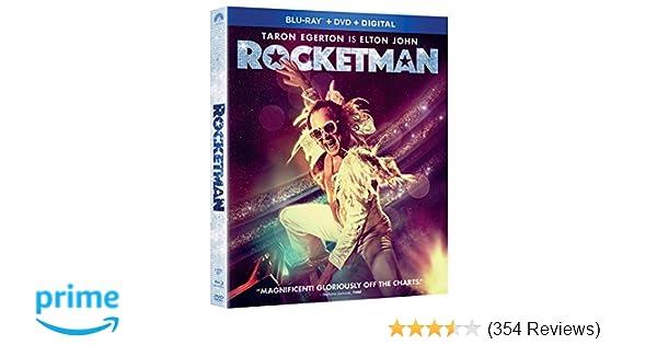 Amazon com: Rocketman [Blu-ray]: Taron Egerton, Jamie Bell
