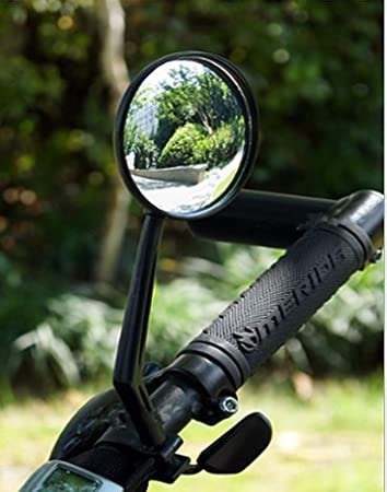 Hoocozi 360/¡/ãRotation Bicycle Mirror 2 Pack Cycling Rear View Mirror for Road Bicycle Mountain Bike