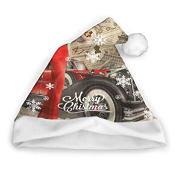 YXUAOQ Cartel Vintage Paris Torn Newspaper Santa Hat Lot ...