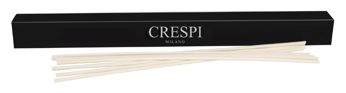 Crespi Milano M101PL Set da 10 Midollini, Rattan, Nero, 2x2x23 cm Crespi Milano Srl