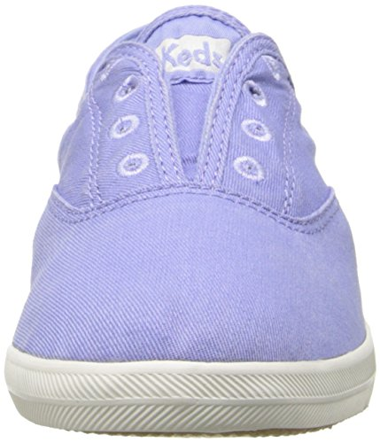 Sneaker On Laceless Slip Women's Keds Chillax Washed Periwinkle nwXUYHRq