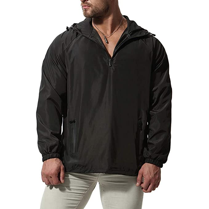 Happy-day Trench Coat de Moda para Hombre 2018 Chaqueta Larga de Invierno con Capucha Abrigo de algodón Militar: Amazon.es: Ropa y accesorios
