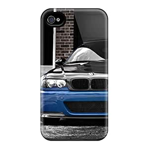 Iphone Covers Cases - Bmw Blue And Black Wallpaper Protective Cases Compatibel With Iphone 4/4s