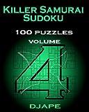 Killer Samurai Sudoku 100 Puzzles, Djape, 144140113X