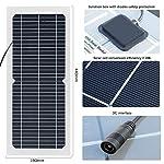 XINPUGUANG-10w-18v-pannello-solare-flessibile-modulo-monocristallino-trasparente-con-connettore-DC-impermeabile-per-campeggio-escursionismo-leggero-caricabatterie-12-v-batteria-18V