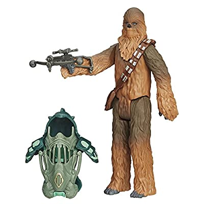 Hasbro Star Wars The Force Awakens 3.75-Inch Figure Forest Mission Armor Chewbacca
