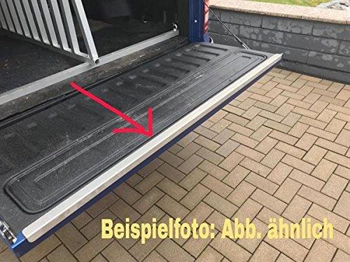 BSB Metall GmbH Heckklappe-Kantenschutz Alu Riffel