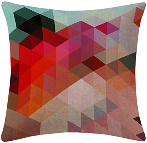 ABCHIC Decorative Cushion Cover Pillowcase for Sofa Couch Chair Seat 18