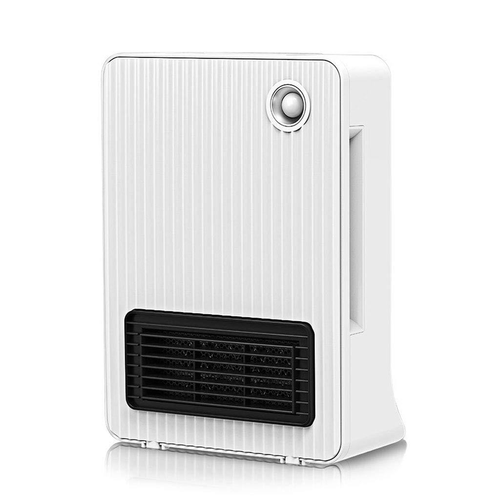 Acquisto Riscaldatore Stufe elettriche Mini Solare Piccolo Elettrico Desktop a Risparmio energetico Muto Doppio Scopo (Color : Bianca, Size : 24 * 11.8 * 33.3cm) Prezzi offerte
