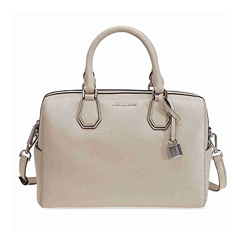 092 Medium Cement Leather Michael Kors Mercer Duffel 30H6SM9U2L vwfZ6q0