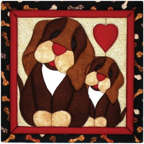 Quilt Magic 12-Inch by 12-Inch Puppy Love Kit by Quilt Magic