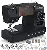 TOYOTA Super Jeans J34 Sewing Machine (Glides Over 12 Layers of Denim) w/Gliding Foot, Blind Hem Foot, Zipper Foot, Overcast Foot, Needles and More!