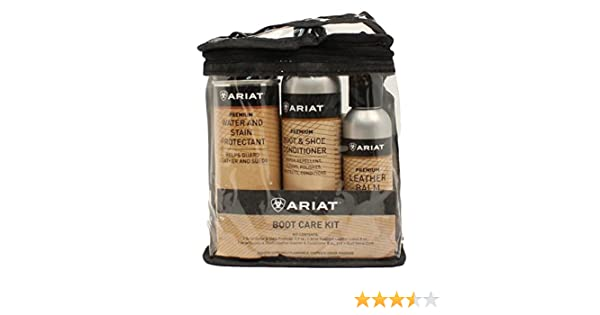 Amazon.com: Ariat Unisex Boot Care Kit Multi One Size: Clothing