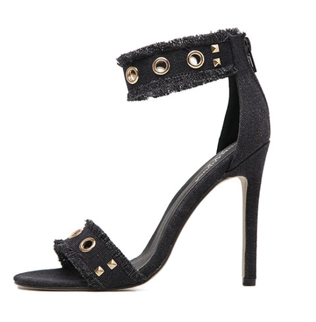 Mustbe Sexy strong Frauen Sandalen Niet Spitze Feine Sexy Mustbe Sandalen mit High Heels Nachtclub Schuhe Bankett Schuhe, 40 Gute Qualität, Perfekte Übereinstimmung - d77438