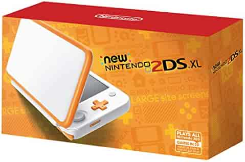 Nintendo New 2DS XL - White + Orange