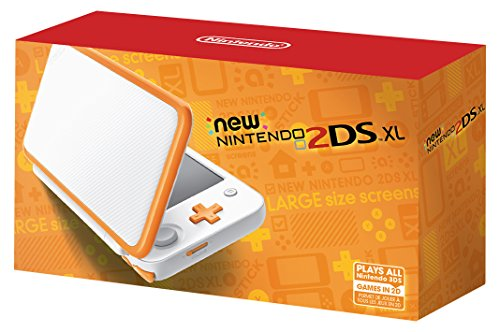 Nintendo New 2Ds Xl   White   Orange