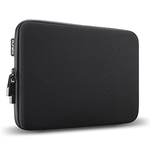 "Runetz - 13"" BLACK Hard Sleeve for MacBook Pro 13.3"" with or"