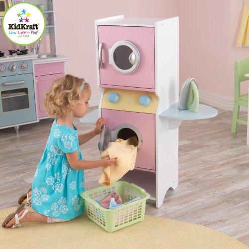51x4uhlL0eL - KidKraft Laundry Playset