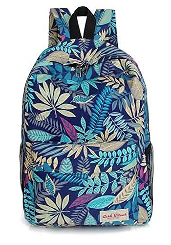 Lush Tropical Blue Backpack