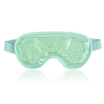 a85e8830f Amazon.com   Cold Eye Mask Gel Bead Cooling Eye Mask for Puffy Eyes ...