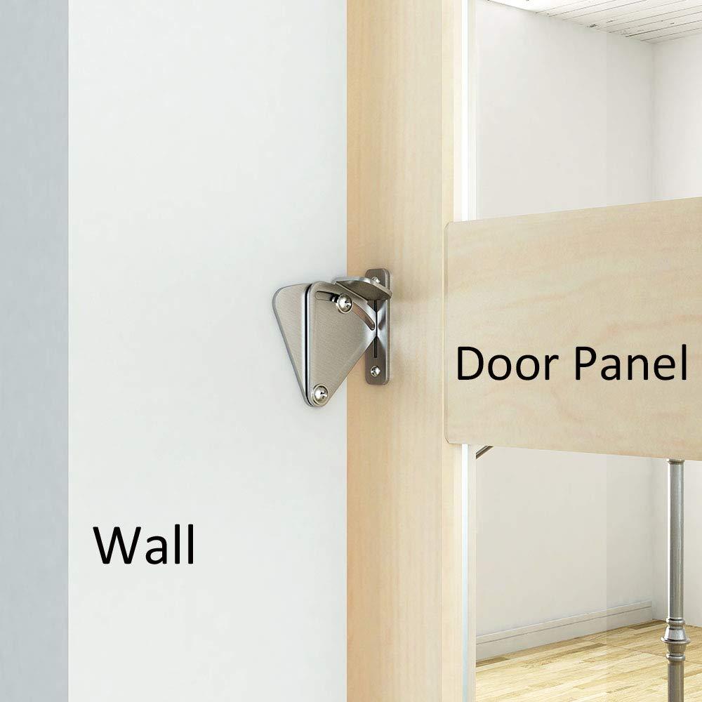 Medium medium lock DIYHD Stainless Steel Lock for Sliding barn Door Wood Door Latch