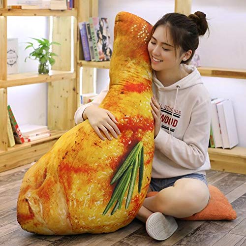 60-110CM Simulation Food Real Life SLE Chic Leg Toy Chick Wing Drumstick Fried Rice Noodles Pillow Cushion Birthday Gift