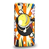 E-GLL Assassination Classroom Koro-sensei their 1674 Protective Snap-on Hard could Back financial Case Cover for iPhone 6 Plus 5.5