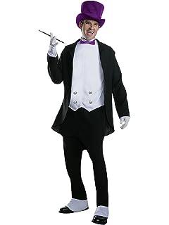 Amazon.com: Batman disfraz de pingüino Hombres Teatral DC ...