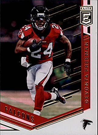 half off 58ece 3acfc Amazon.com: 2018 Donruss Elite #42 Devonta Freeman Falcons ...