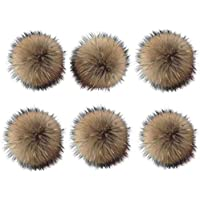 6 Unids 15 cm Faux Fox Fur Fluffy